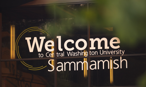 CWU-Sammamish sign